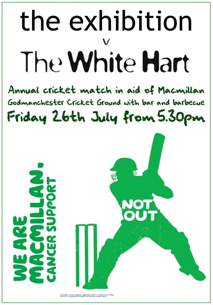 Exhibition v White Hart Cricket Match