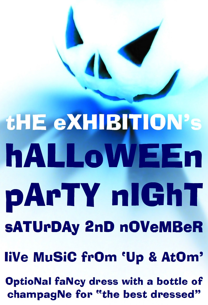 Halloween party at the exhibition in Godmanchester 2013