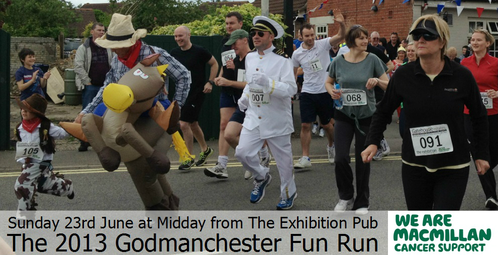 The 2013 Godmanchester Fun Run