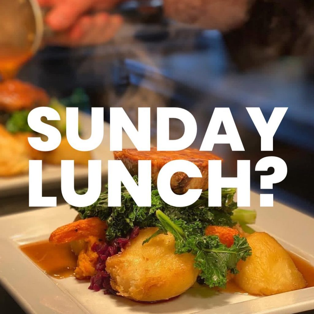 Sunday Lunch near Huntingon